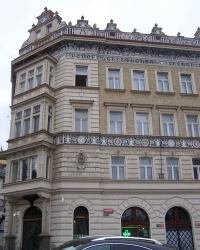 м. Прага. Будинок № 14 на Малостранській площі.