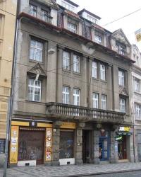 м. Прага. Будинок № 28 по вул. Кармелітській.