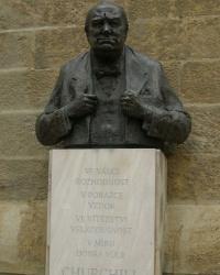 м. Прага. Пам'ятник Вінстону Черчиллю.
