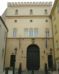 м. Прага. Палац Леслі.