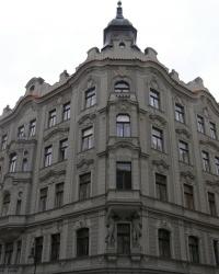 м. Прага. Будинок № 12 по вул. Широкій.