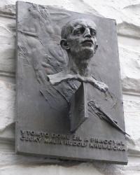 м. Прага. Меморіальна дошка Рудольфу Кремлічці.