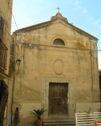 м. Тропеа. Церква di Santa Chiara.