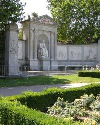 м. Відень. Пам'ятник Францу Грілльпарцеру.