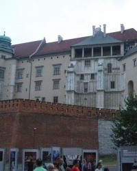 Краків. Королівський палац на Вавелі.