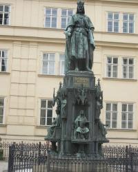 м. Прага. Пам'ятник Карлу IV