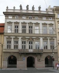 м. Прага. Кайзерштейнський палац.