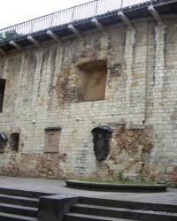 м. Прага. Меморіальні дошки на стіні верховного бургграфства.