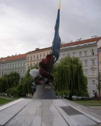 м. Прага. Пам'ятник руху Другого опору.