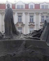 м. Прага. Пам'ятник Яну Гусу
