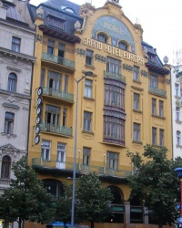 м. Прага. Готель «Європа»