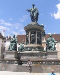 м. Відень. Пам'ятник імператору Францу ІІ (І).