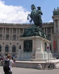 м. Відень. Пам'ятник принцу Євгену Савойському.