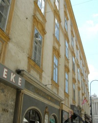 м. Відень. Наріжний будинок на вулиці Кольмаркт.