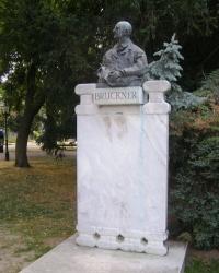 м. Відень. Пам'ятник Антону Брукнеру.