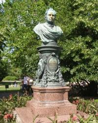 м. Відень. Пам'ятник Андреасу Зелінці.