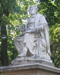 Відень. Пам'ятник Францу Шуберту.