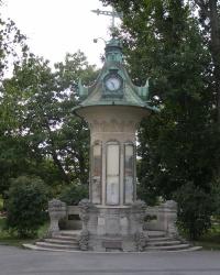 Відень. Метеорологічна колона у Штадтпарку.