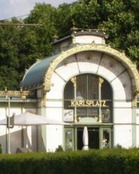 м. Відень. Вагнеровський павільйон «Карлсплац».