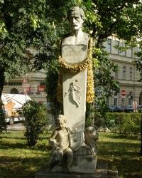 м. Відень. Пам'ятник Николаусу Ленау.