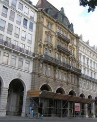 м. Відень. Аркадні будинки на Ратушній площі.