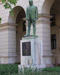 м. Будапешт. Пам'ятник Іштвану Сабо Надьятаді.