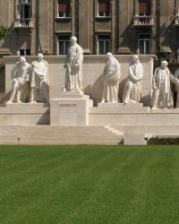 м. Будапешт. Пам'ятник Лайошу Кошуту.