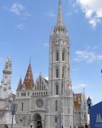 м. Будапешт.  Собор св. Матяша.