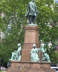 м. Будапешт. Пам'ятник Іштвану Сечені.