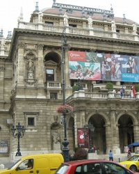 м. Будапешт. Оперний театр.