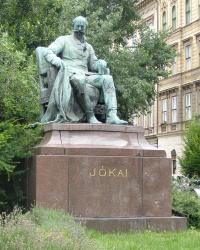 м. Будапешт. Пам'ятник Мору Йокаї.