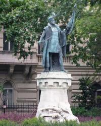 м. Будапешт. Пам'ятник Міклошу Зриньи.