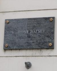 м. Будапешт. Меморіальна дошка Йожефу Кьороші.