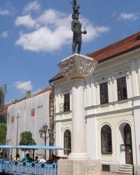 м. Токай. Пам'ятник св. Стефану.
