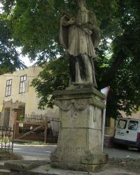 м. Токай. Пам'ятник св.  Яну Непомуку.