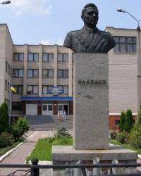 м. Козятин. Бюст двічі Героя Радянського Союзу  І.Н.Бойко.