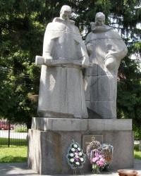 м. Козятин. Меморіал воїнам-визволителям та загиблим землякам