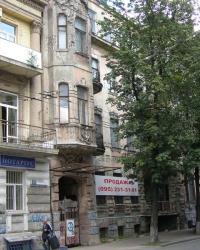 м.Київ. Будинок № 34 по вул. Великій Житомирській.