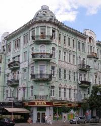м.Київ. Будинок № 37 по вул. Ярославів Вал.