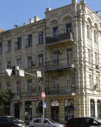 м. Київ. Будинок № 31 по вул. Саксаганського.