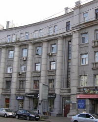 м. Київ. Будинок № 65 по вул. Саксаганського.