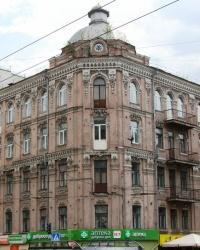 м. Київ. Будинок № 107 по вул. Саксаганського.