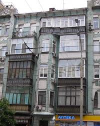 м. Київ. Будинок № 117 по вул. Саксаганського.