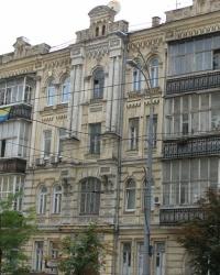 м. Київ. Будинок № 113а по вул. Саксаганського.