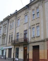 м. Чернівці. Будинок № 18 по вул. Хмельницького.
