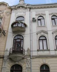 м. Чернівці. Будинок № 4 по вул. Лисенка.