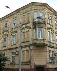 м. Чернівці. Будинок № 55 по вул. Хмельницького.