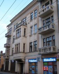 м. Чернівці. Будинок № 16 по вул. Університетській.