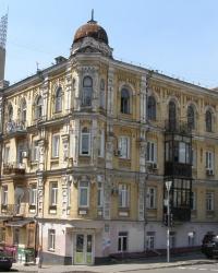 м. Київ. Будинок № 30 по вул. Бульварно-Кудрявській.