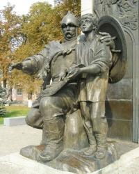 Памятник 1000-летию Лубен